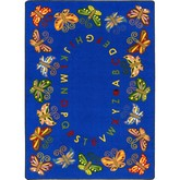 Joy Carpets Kid Essentials Butterfly Delight Multi