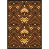 Joy Carpets Any Day Matinee Deco Strobe Brown