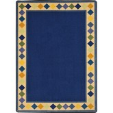 Joy Carpets Kid Essentials Delightful Diamonds Multi