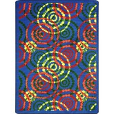 Joy Carpets Kid Essentials Dottie Rainbow