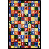 Joy Carpets Playful Patterns Edu Squares Multi