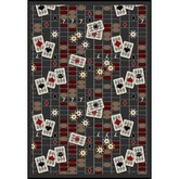 Joy Carpets Games People Play Feeling Lucky Charcoal
