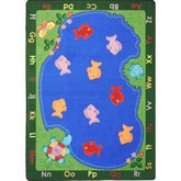 Joy Carpets Kid Essentials Fishin Fun Multi