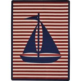 Joy Carpets Kid Essentials Following Seas Blue
