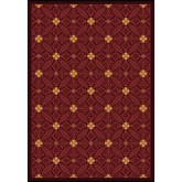 Joy Carpets Any Day Matinee Fort Wood Burgundy