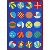 Joy Carpets Kid Essentials Have a Ball Multi