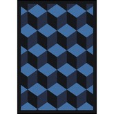 Joy Carpets Kaleidoscope Highrise Navy