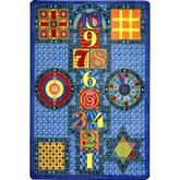 Joy Carpets Kid Essentials Games Galore Sapphire