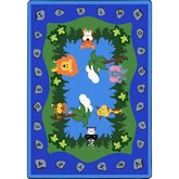 Joy Carpets Kid Essentials Jungle Peeps Multi