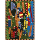 Joy Carpets Kid Essentials Kids Building Character Multi