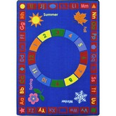 Joy Carpets Kid Essentials Learning Time Multi