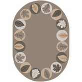 Joy Carpets Kid Essentials Lively Leaves Neutral