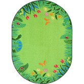 Joy Carpets Kid Essentials Merry Meadows Green