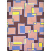 Joy Carpets Kid Essentials Outside the Box Grape