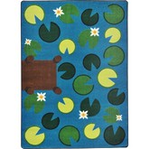 Joy Carpets Kid Essentials Playful Pond Multi