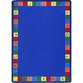 Joy Carpets Kid Essentials Primarily Alphabett Multi
