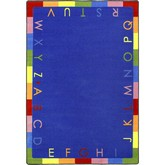 Joy Carpets Kid Essentials Rainbow Alphabet Bold