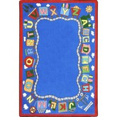 Joy Carpets Kid Essentials Reading Train Multi