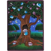 Joy Carpets Kid Essentials Reading Tree Multi