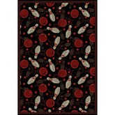Joy Carpets Games People Play Retro Bowl Fireball Red