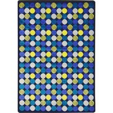 Joy Carpets Kid Essentials Roundabout Blue