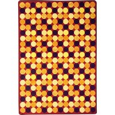 Joy Carpets Kid Essentials Roundabout Red