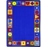 Joy Carpets Kid Essentials Seasons Shapes Alphabet Multi