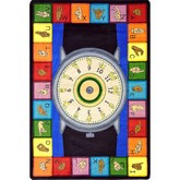 Joy Carpets Kid Essentials Signs of the Time Multi