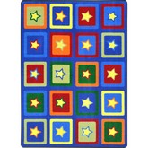 Joy Carpets Kid Essentials Sitting Stars Multi