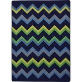 Joy Carpets Kid Essentials Sonic Navy