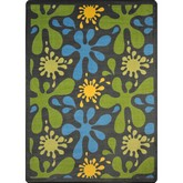 Joy Carpets Kid Essentials Splat Gray