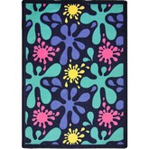 Joy Carpets Kid Essentials Splat Navy