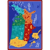 Joy Carpets Kid Essentials States of the Nation Multi