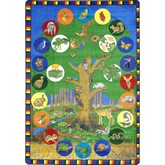 Joy Carpets Kid Essentials Tree of Life Multi