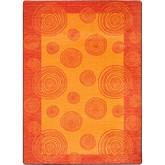 Joy Carpets Kid Essentials Whimzi Orange