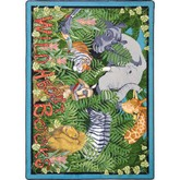 Joy Carpets Kid Essentials Wild About Books Multi