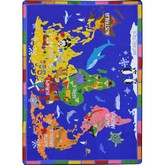 Joy Carpets Kid Essentials World of Wonders Multi