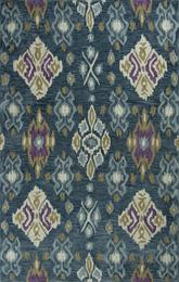 KAS Anise  2412 Blue Allover Ikat