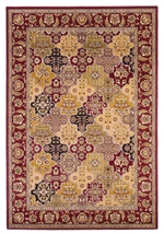 KAS Cambridge  7325 Red Kashan Panel
