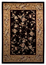 KAS Cambridge  7336 Black/Beige Floral Delight