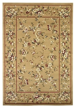 KAS Cambridge  7338 Beige Floral Delight