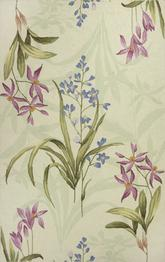 KAS Colonial  1823 Ivory Wild Flowers