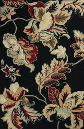 KAS Colonial  1827 Black Damask Floral