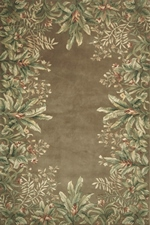 KAS Emerald  9000 Taupe Tropical Border