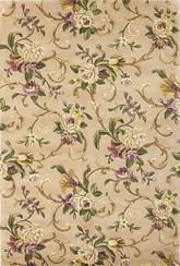 KAS Emerald  9201 Beige Sofia Scroll