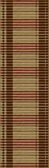 KAS Lifestyles  5475 Earthtone Stripes