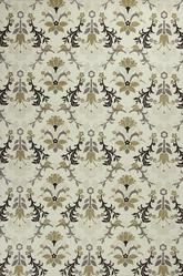 KAS Mulberry  3408 Ivory Allover Tapestry