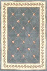 Kas Ruby 8937 Sage Bouquet Area Rug Free Shipping