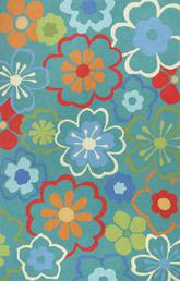 KAS Sonesta  2029 Blue Floral Splash