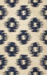 KAS Tapestry  6801 Ivory/Blue Simplicity